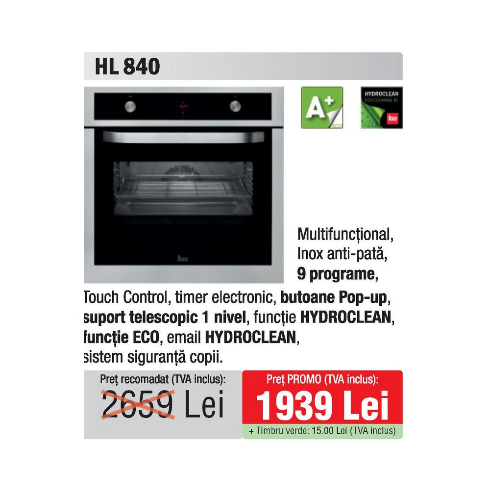 cuptor Teka HL 840 - oferta