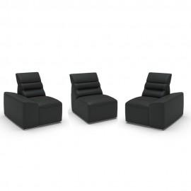 Canapele Impressione 3 locuri - cu brate model A2