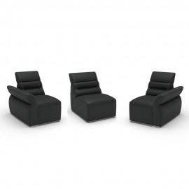 Canapele Impressione 3 locuri - cu brate model A3