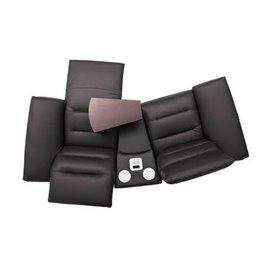 Canapele Impressione 2 locuri cu sistem audio - variante simple, cu recliner manual sau cu recliner electric - brate model A1