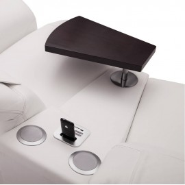 modul trapezoidal cu polita laptop si cu sistem audio bluetooth (MP3) cod: TTSU