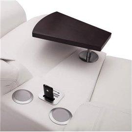 Impressione modul trapezoidal cu polita laptop si cu sistem audio bluetooth (MP3) cod: TTSU