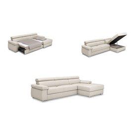 canapele cu sezlong si depozitare