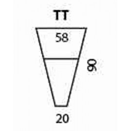 modul trapezoidal cu depozitare si polita (masuta)