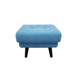 leather footstool Henry