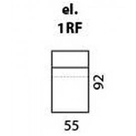 modul 1 loc cu recliner (relax function) - cod: 1RF