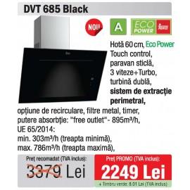 hota 60 Teka DVT 685 Black - oferta