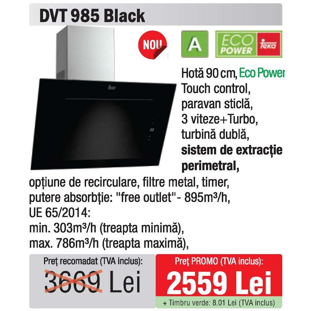 hota 90 Teka DVT 985 Black - oferta