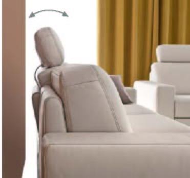 tetiere pentru canapele si coltare E-Motion